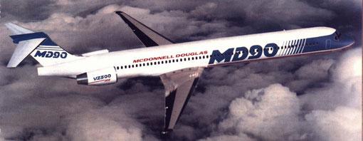 MD90-30-Modellfoto/Courtesy: McDonnell Douglas