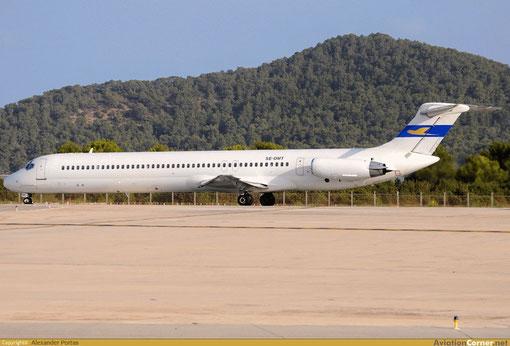 Die weltweit älteste MD-81 steht nunmehr bei Air Sweden im Einsatz/Courtesy: Alexander Portas