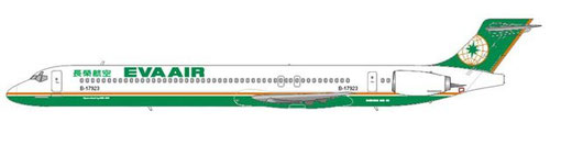 EVA Air MD90-30/Courtesy and Copyright: md80design