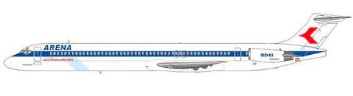 """Eine MD-83 wurde von Finnair geleast und für den Reiseveranstalter """"ARENA"""" eingesetzt/Courtesy and Copyright: md80design"""