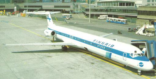 MD-82 zwischen zwei Flügen/Privatsammlung
