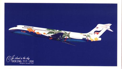 Postkarte/Courtesy: Bangkok Air