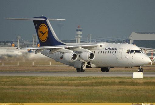 Auch in den Farben der Lufthansa sind Flugzeuge dieses Typs im Einsatz/Courtesy: Alexander Portas