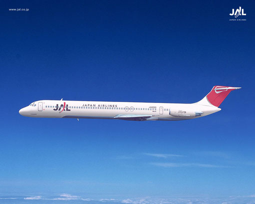 JAL MD-81/Courtesy: JAL