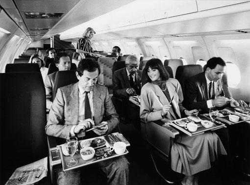 Kabine einer Fokker 100/Courtesy: Fokker