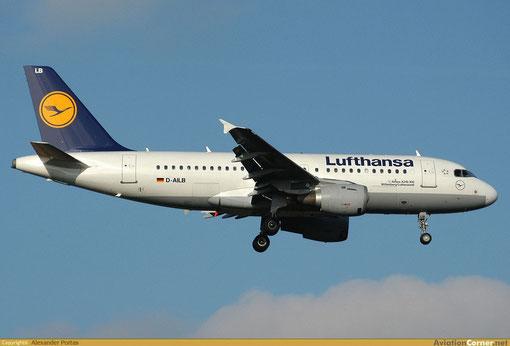 Lufthansa setzen eine stattliche Flotte von A319 ein/Courtesy: Alexander Portas