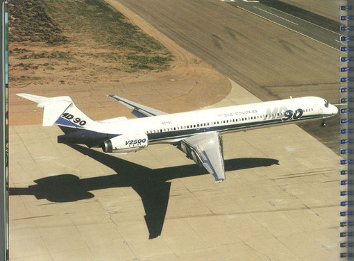 MD-90/Courtesy: McDonnell Douglas
