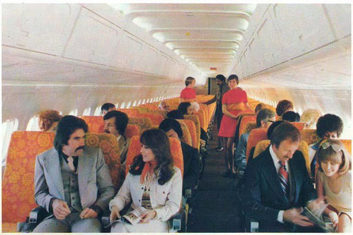 DC-9-50-Kabine/Courtesy: McDonnell Douglas