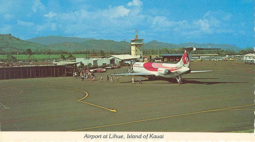 DC-9-50 von Hawaiian Air/Postkarte