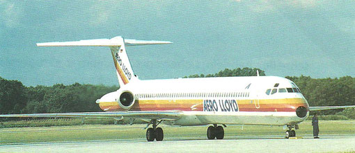 Aero Lloyd MD-83/Privatsammlung