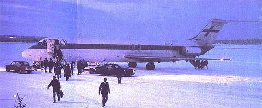 Selbst unter arktischen Temperaturen zuverlässige Dienste/Courtesy: Finnair