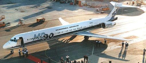 Feier zur Zertifizierung/Courtesy: McDonnell Douglas