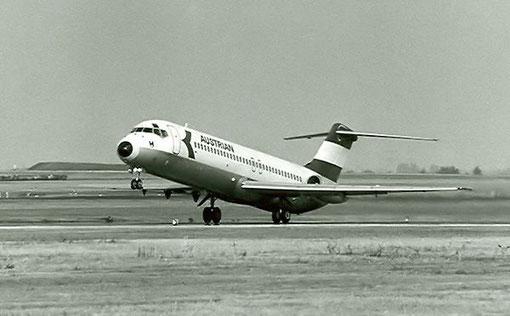 Austrian DC-9/Courtesy: Austrian Airlines