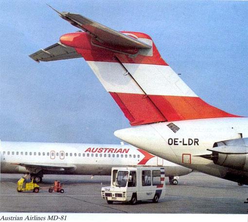 Der erste kommerzielle Einsatz erfolgte mit der  OE-LDR/Courtesy: Austrian Airlines