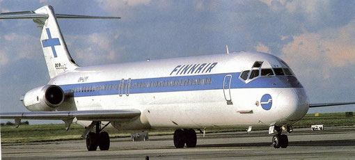 DC-9-51 der Finnair/Courtesy: Finnair