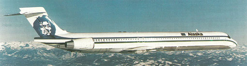 Alaska Airlines MD-90-Fotomontage/Courtesy: McDonnell Douglas