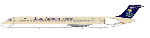 Saudi Arabian Airlines MD90-30/Courtesy and Copyright: md80design