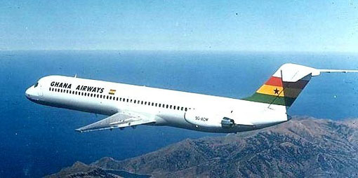 Ghana Airways DC-9-51/Courtesy: McDonnell Douglas