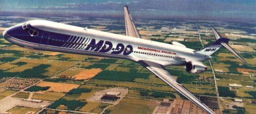Solche schönen Modellzeichnungen erweckten große Erwartungen/Courtesy: McDonnell Douglas