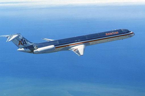Größter und wichtigster Nutzer der MD-80 wurden American Airlines/Courtesy: McDonnell Douglas
