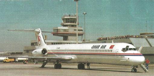 MD-88/Courtesy: Onur Air?