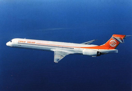 UNI Air MD-90/Courtesy: McDonnell Douglas