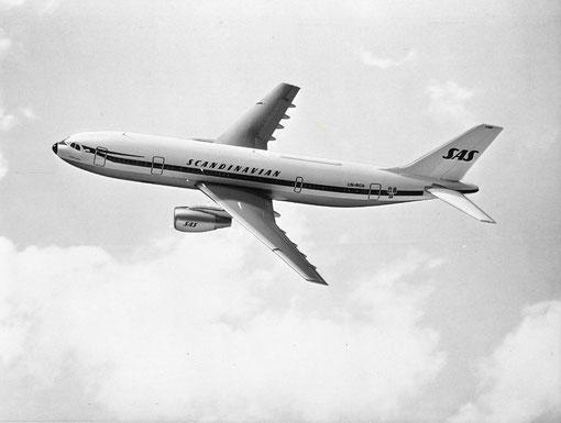 Kurze Einsatzzeit bei SAS - die Airbus A300/Courtesy: SAS