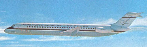 DC-9-50-Prototyp/Courtesy: McDonnell Douglas