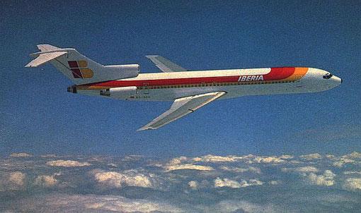 Ein Klassiker - die Boeing 727-200Adv./Courtesy: Iberia