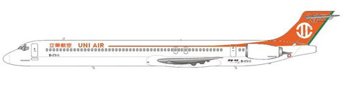 UNI Air MD90-30/Courtesy and Copyright: md80design