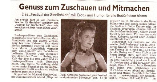 Nürnberger Nachrichten, 23.09.09