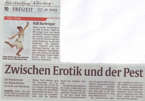Abendzeitung Nürnberg, 22.10.09
