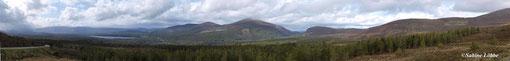 Panorama bei Loch Ness