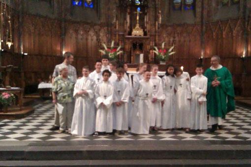 Profession de foi, 16 juin 2012, église St-Eutrope