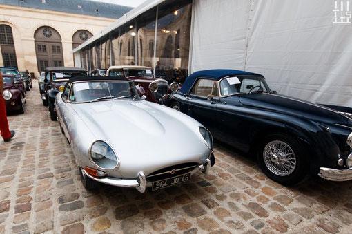 Jaguar Type E 4.2 litres Série 1 Roadster châssis n° 1E10552