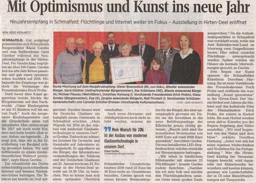 Segeberger Zeitung 14.01.2016