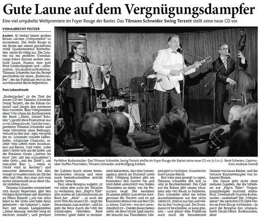 Aachener Zeitung, 22.05.2012 - zum Vergrößern Bild anklicken