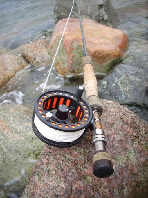 fliegenrute cts affinity x 8 9ft rutenbau fishing und meer. Black Bedroom Furniture Sets. Home Design Ideas