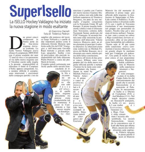Sportivissimo - Ottobre 2010