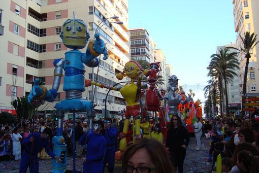 Desfile de carnaval Cadiz