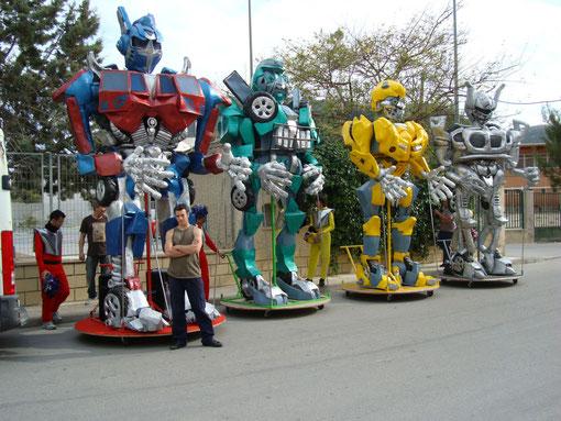 TRANSFORMERS EN ESPERA