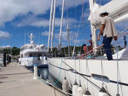 Beniguet à quai Marina Port du Sud