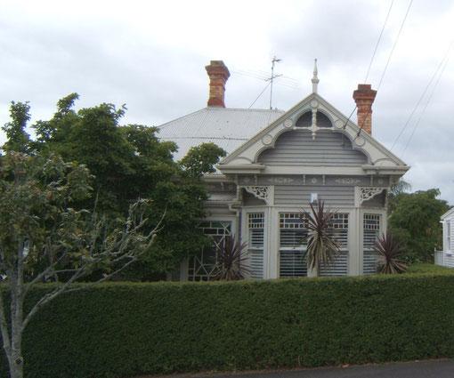 encore quelques jolies maisons victoriennes en bois