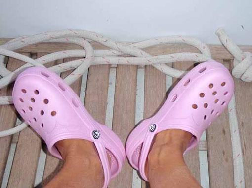 mes chaussures de pont trop sexy