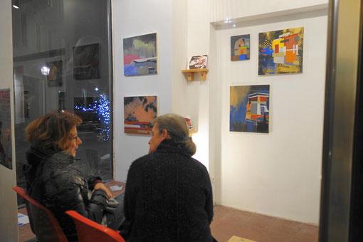 James Wallace Harris in der Galerie Sehr November 2017