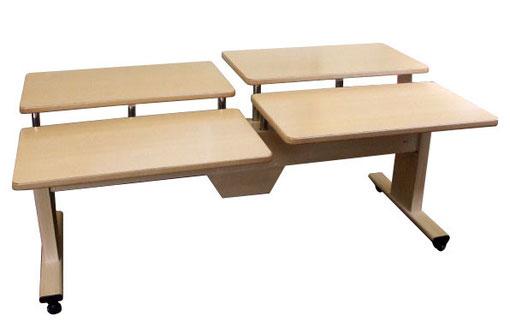 介護テーブル TN-404(ホワイトウッド)