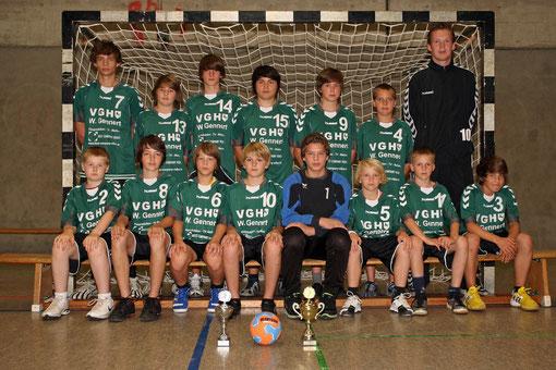 männliche C-Jugend Saison 2011/2012
