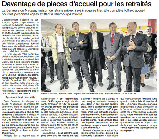 Ouest-France, 06.10.12