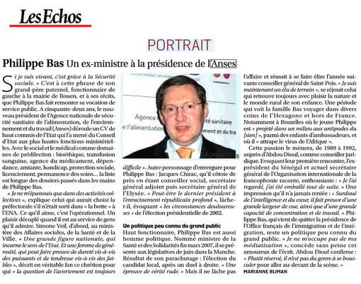 article Les Echos, 23.02.2011