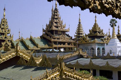 Das Nationalheiligtum: Die »Shwedagon«-Pagode